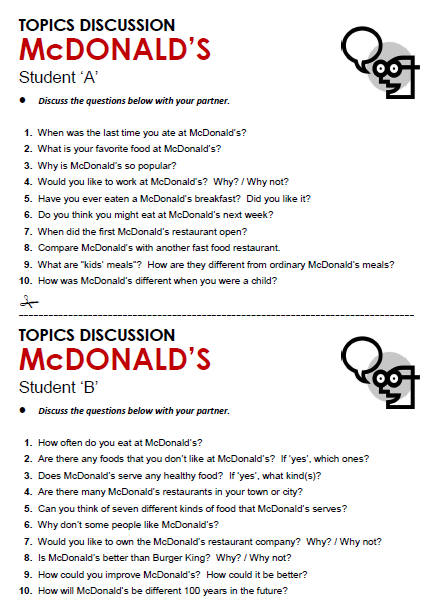 Mcdonald S All Things Topics