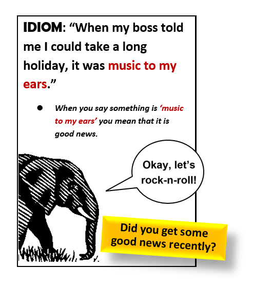 Idiom Music To My Ears All Things Topics