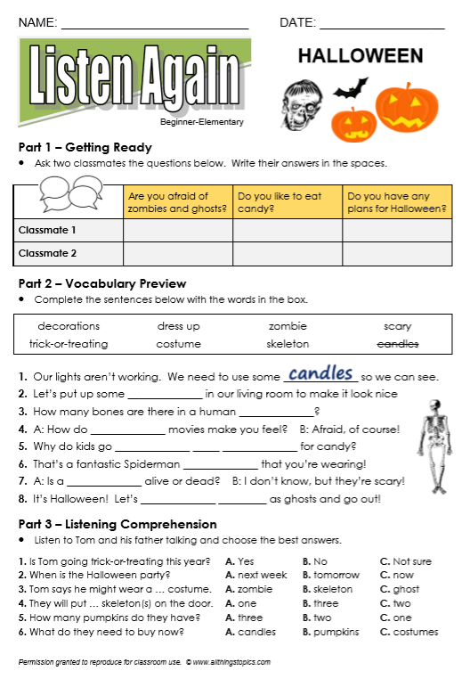 Halloween - All Things Topics