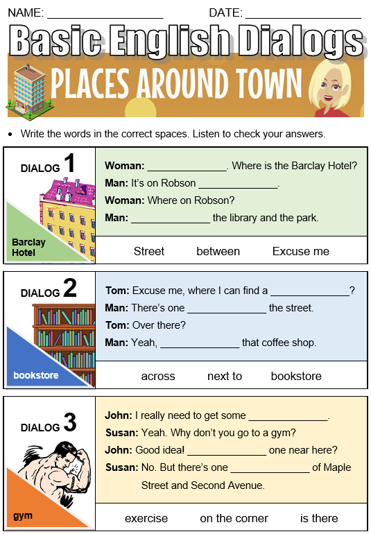 Places Around Town - All Things Topics